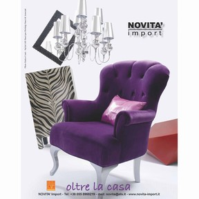 NOVITA' import, is OLTRE LA CASA, over the home