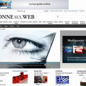 DONNE SUL WEB