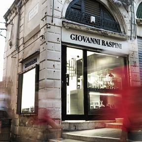 Nuova boutique Giovanni Raspini a Venezia