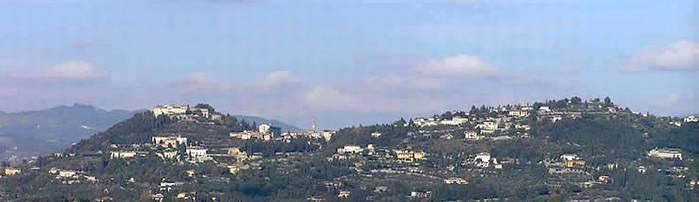 Fiesole, vista da Firenze